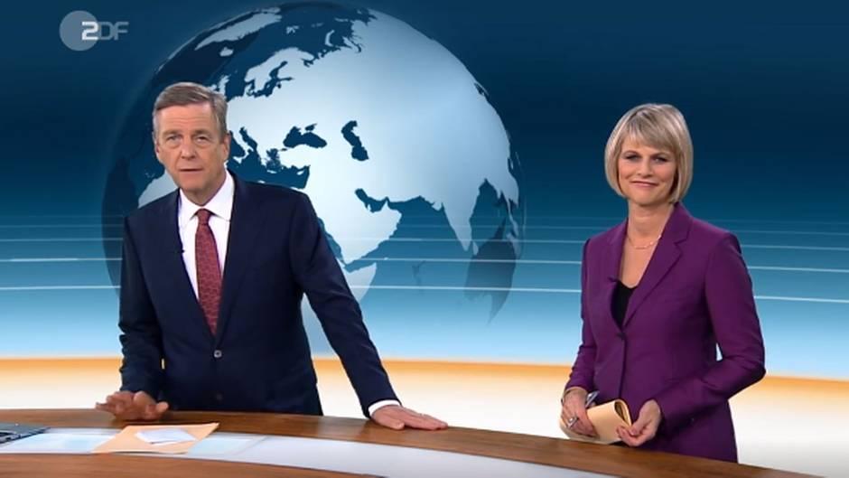 """Claus Kleber im """"heute journal"""""""