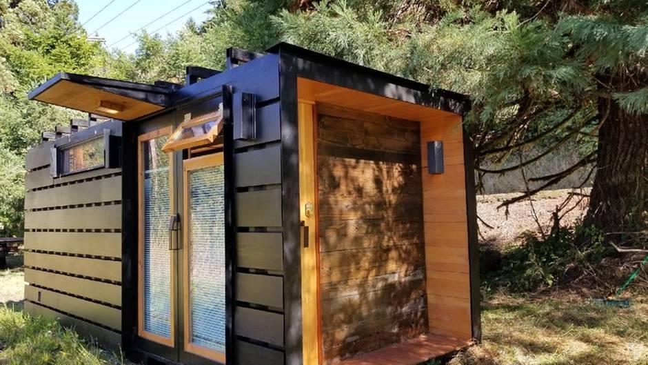 Tiny House: Schiffscontainer wird zum edlen Häuschen | STERN.de