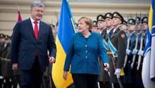 Angela Merkel Staatsbesuch Ukraine