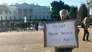 Anti-Trump und Hass-Protest