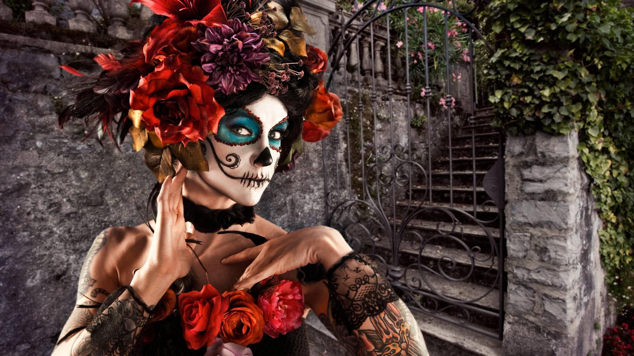Dia De Los Muertos So Frohlich Feiern Die Mexikanier Ihre Toten