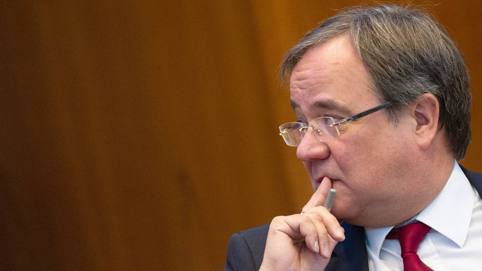 Armin Laschet macht sich Sorgen über einen möglichen Rechtsruck der CDU