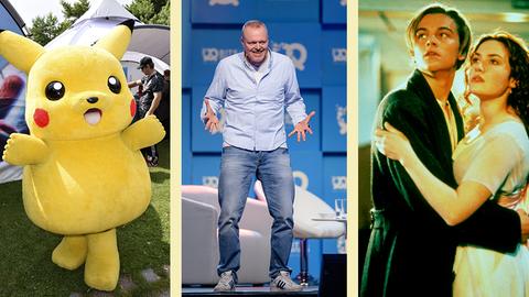"""""""Titanic"""", Stefan Raab und Pokémon: Zehn skurrile Fakten über die 90er-Jahre"""