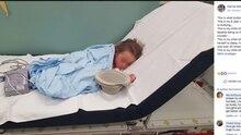 Sophia im Krankenhaus