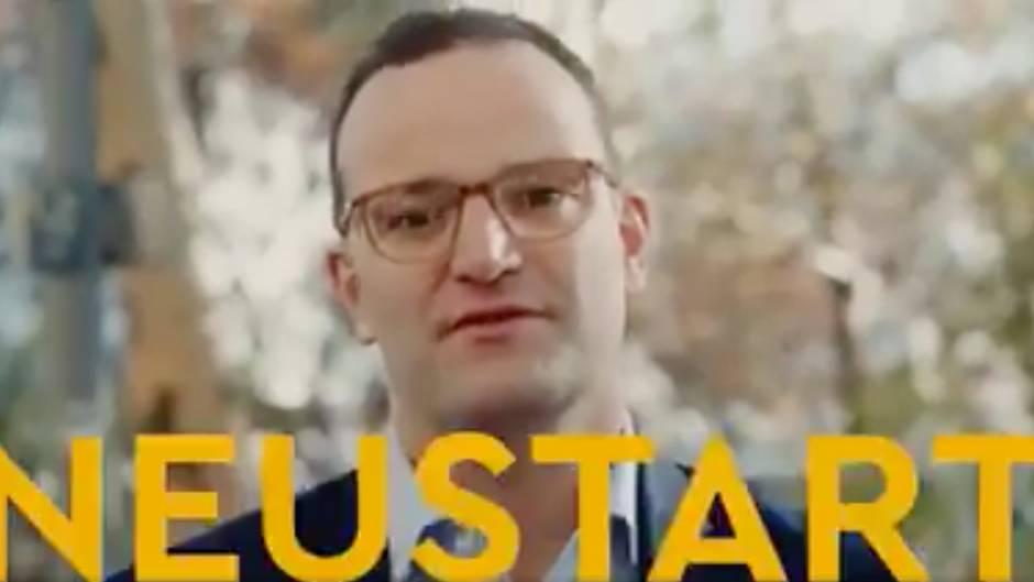 Nachfolger von Merkel: Jens Spahns neues Werbevideo ist wenig gehaltvoll - die Reaktionen darauf haben es aber in sich