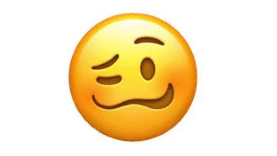 Emoji mit verzogenem Gesicht