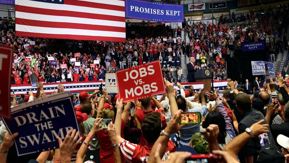 Midterm-Wahlen: Erbitterter Wahlkampf in den USA – stern-Reporter unterwegs in einem zerrissenen Land