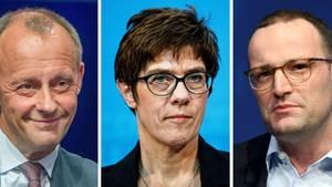 Vor CDU-Parteitag in Hamburg: Merz, Spahn, AKK? Rennen um Merkel-Nachfolge eröffnet