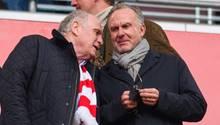 FC-Bayern-Bosse Uli Hoeneß und Karl-Heinz-Rummenigge