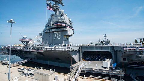 Pannen zu Beginn sind bei komplexen Systemen wie einem Flugzeugträger nicht ungewöhnlich.