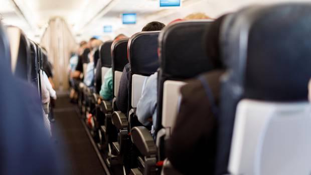 Im Flugzeug