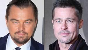 Leonardo DiCaprio und Brad Pitt rufen die US-Bürger zum Wählen auf