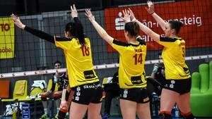 """""""Prachtregion"""" Frauenhintern: Beschwerden über sexistische Werbung beim Volleyball"""