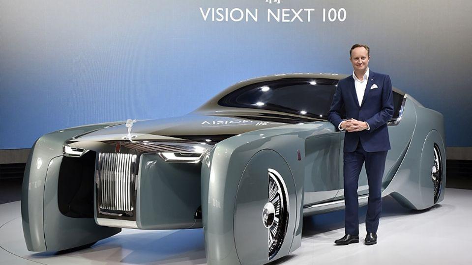 Giles Taylor - einst Rolls-Royce, derzeit bei Hongqi, der Luxusmarke von FAW