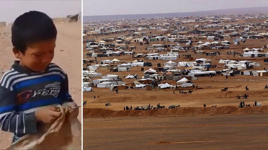 Rukban: 50.000 Menschen in Not – die verzweifelte Situation im Flüchtlingslager an der Grenze zu Jordanien