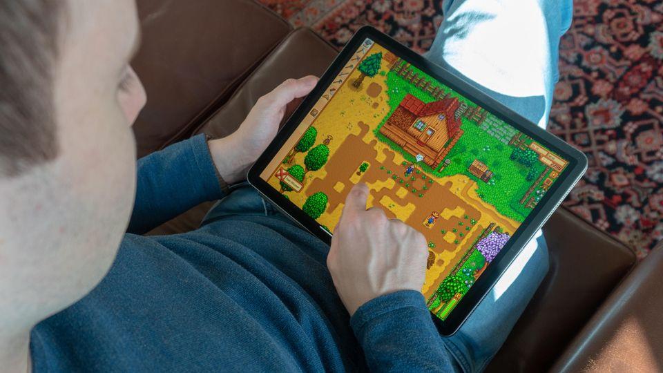 Neben all dem Business kann man auf dem iPad Pro auch spielen.