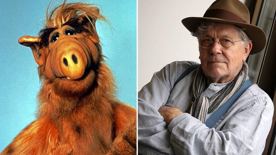 """Tommi Piper lieh dem Außerirdischen TV-Helden """"Alf"""" seine Stimme"""
