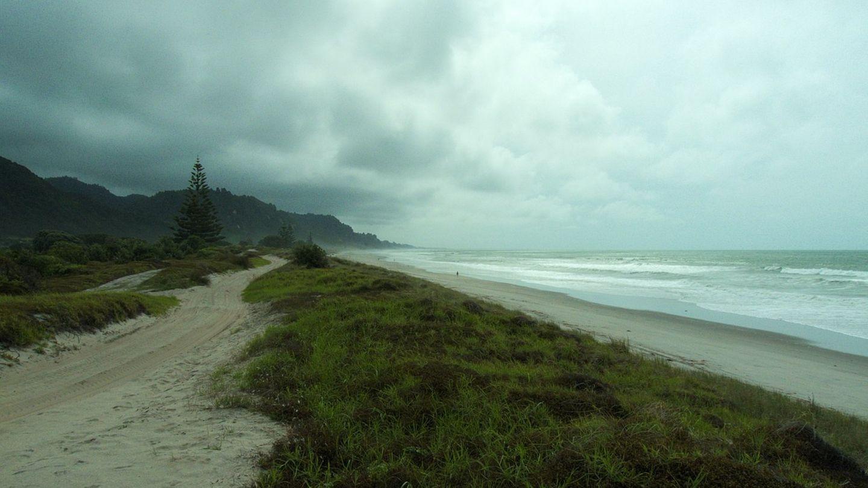 Matata Beach in Neuseeland