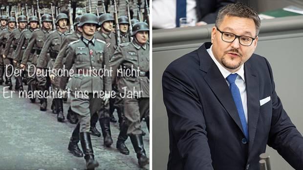 AfD-Abgeordneter Stefan Keuter rechtfertigt sich für Nazi-Bilder