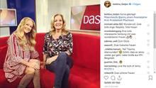 Dieses gemeinsame Foto mit Jenny Elvers postete Moderatorin Bettina Tietjen auf ihrem Instagram-Account
