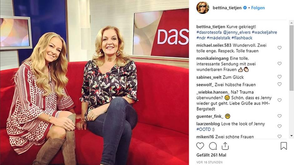 Jenny Elvers Spricht Auf Dem Roten Sofa über Ihren Alkohol Absturz