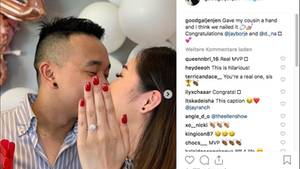 Australien: Auf diesem Verlobungsbild ist etwas nicht das, wonach es aussieht
