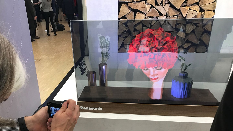 Panasonic Glas-TV