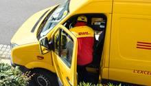 DHL-Paketbote