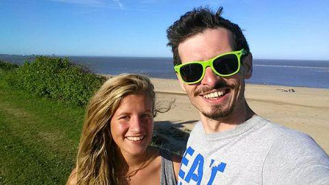 Oliver Noelting und seine Freundin