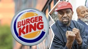 Kanye West hat zur zeit Beef mit Burger King