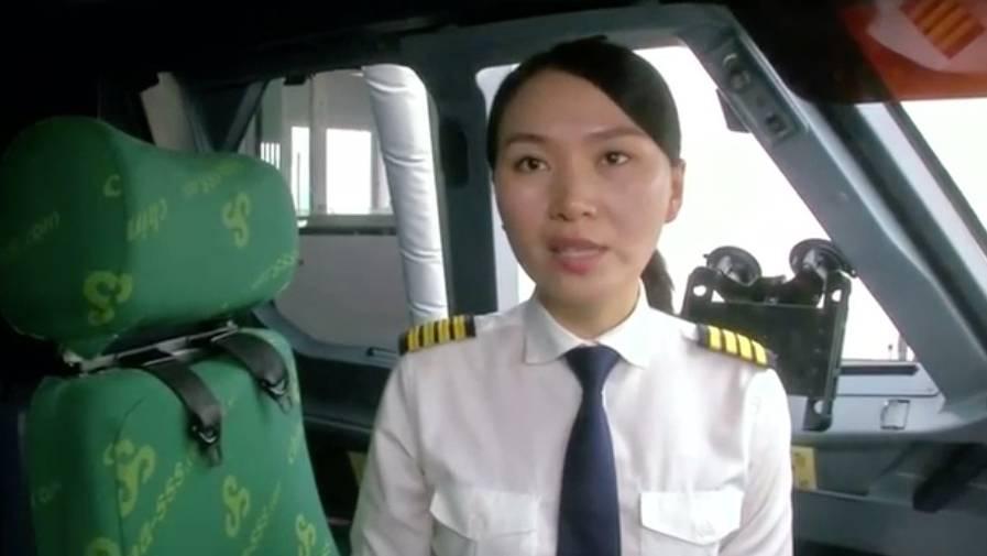 Porträt einer Fliegerin : China hat so wenige Pilotinnen wie kaum ein anderes Land - Han Siyuan ist eine von ihnen