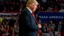 Donald Trump: Trotz Verlusten im Repräsentatenhaus zufrieden