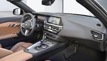 Das Cockpit den BMW Z4 M40i ist eher ohne große Überrraschungen