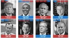 Acht US-Präsidenten