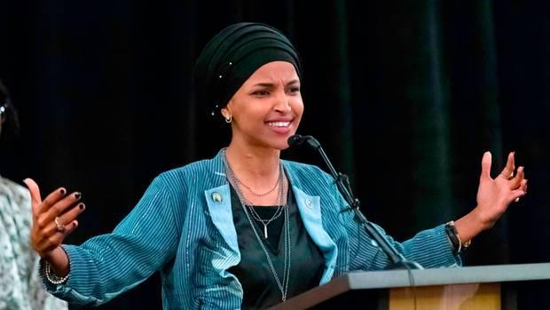 Ilhan Omar ist eine von zwei muslimischen Frauen im Repräsentantenhaus