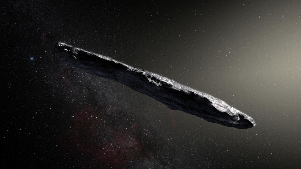 "Komet ""Oumuamua"""