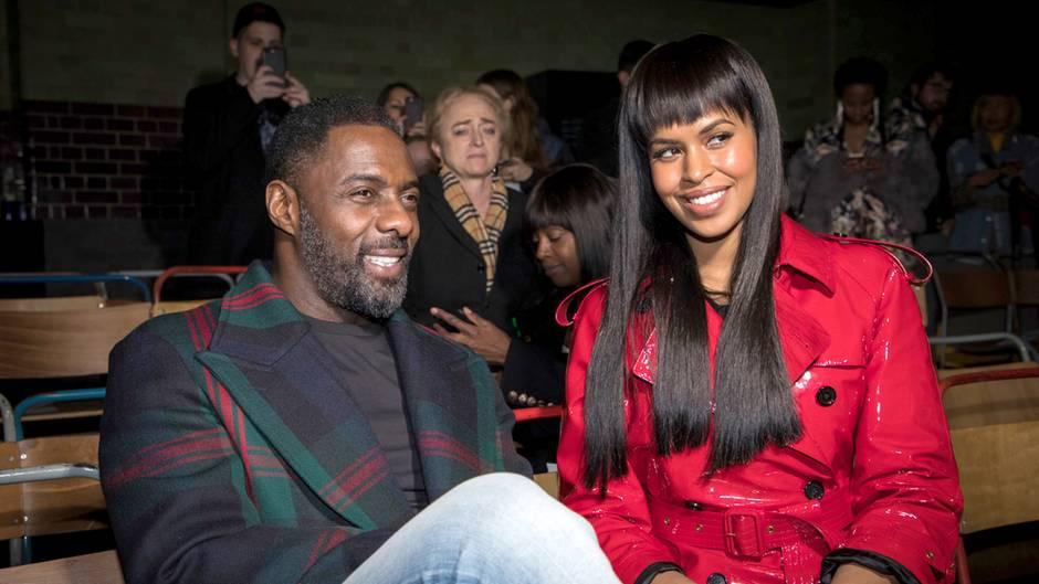 Idris Elba und seine Verlobte Sabrina Dhowre
