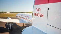 Das Flugzeug mit der Kennung N8083H flog zunächst für TWA, dann für Alaska Airlines und zehn weitere Fluglinien, ehe sie zusammen mit zwei anderen Super Stars von der Lufthansa Berlin Stiftung erworben wurde.