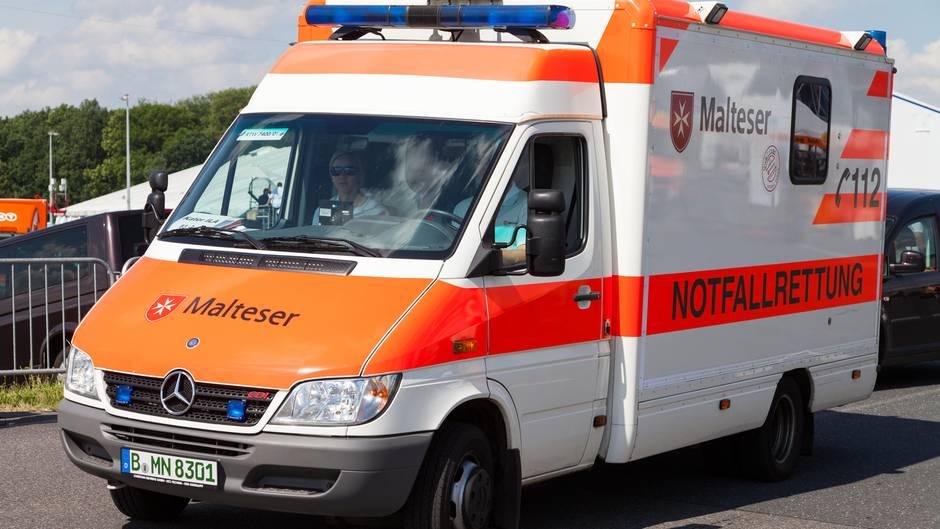 Krankenwagen der Malteser