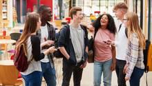 Eine Gruppe Teenager