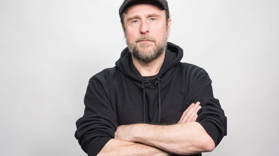 Der deutsche Schauspieler Bjarne Mädel