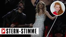 Später bereuteauch Taylor Swift die Zeit mit unfairen und gemeinen Mayer.