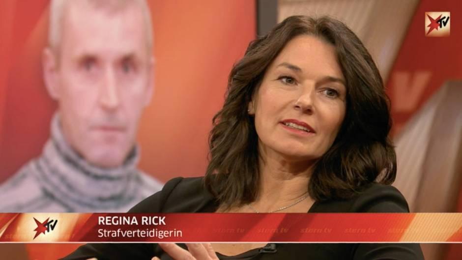 stern TV-Studiogespräch mit Anwältin Regina Rick und Kriminalist Axel Petermann