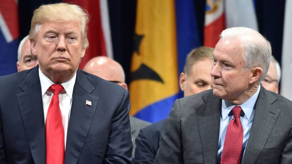 Donald Trump entlässt Justizminister Jeff Sessions