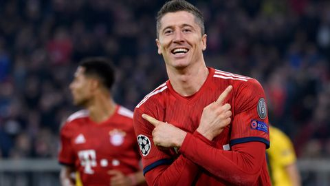 FC Bayern siegt in der Champions League vor Dortmund-Spiel