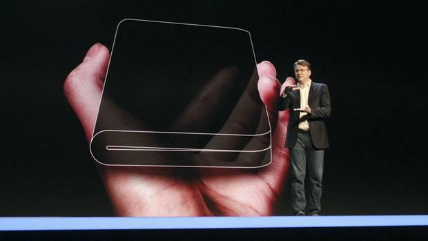 """Samsung stellt das neue sogenannte""""Infinity Flex Display"""" vor"""