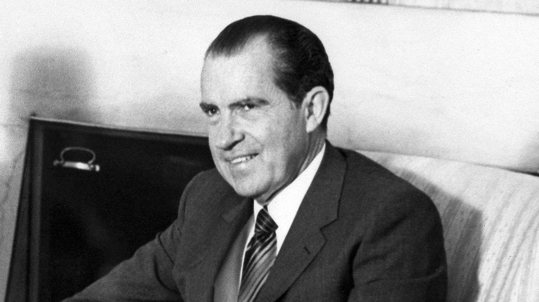 Richard Nixon im Mai 1970. Der Republikaner war von 1969 bis 1974 Präsident der Vereinigten Staaten