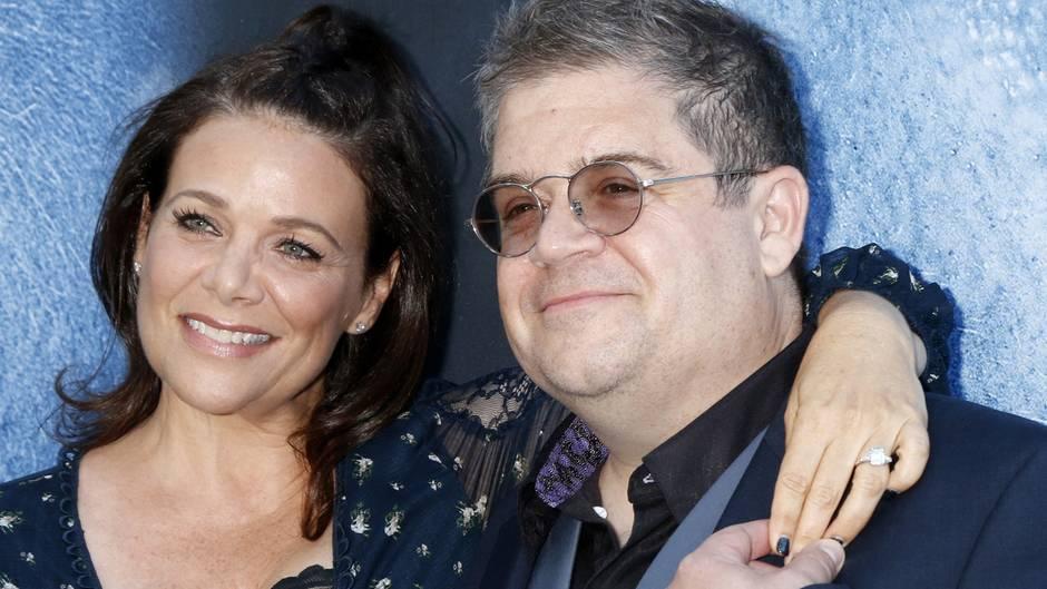 Meredith Salenger und ihr Mann, Comedian Patton Oswalt