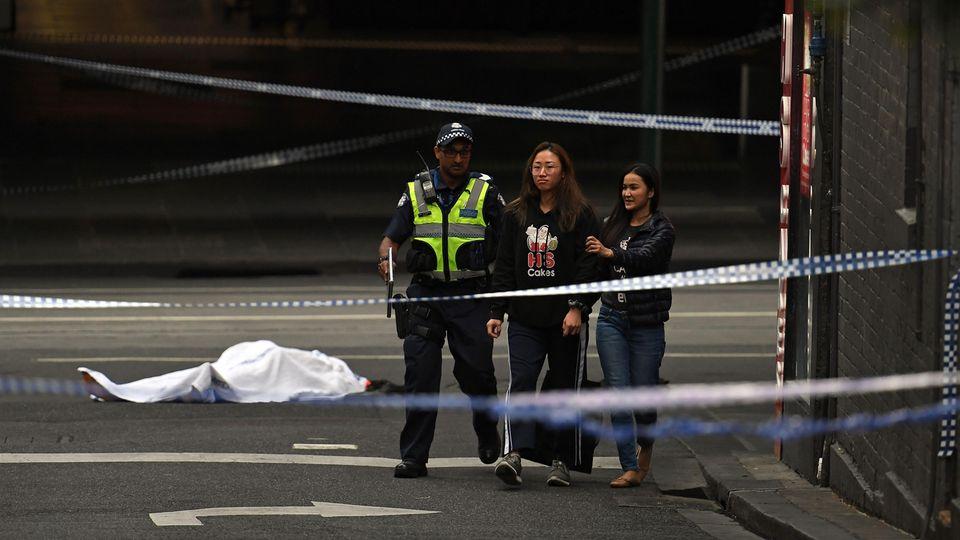 Zwei Menschen staben bei der Messerattacke in Melbourne, darunter auch der Angreifer