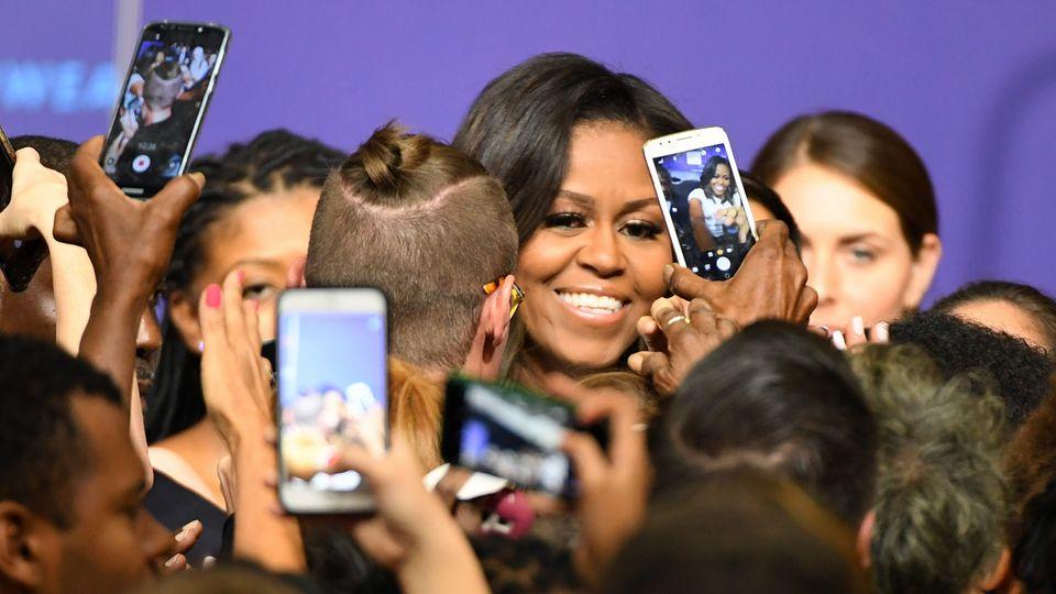 Michelle Obama, hier bei einem Auftritt Ende Septemberin Las Vegas